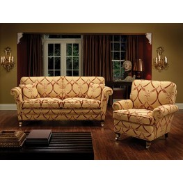 Lincoln Three Seater Settee, Two Seater Sette & Chair