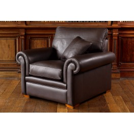 Garrick Grand Sofa, 2.5 Seater Sofa, Garrick 2 Seater Sofa, Chair and Leather Footstool