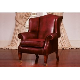 Dartmouth Leather Wing Chair