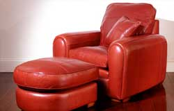 Spitfire Leather Chair