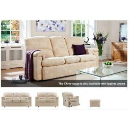 Chloe Sofas, Chairs, Manual & Powered Recliners in fabric or leather
