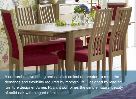 Ercol Furniture's Artisan Dining Suite