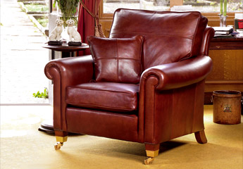 Duresta Stanford Chair in Leather