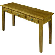 Writing table from the Hertford furniture range by Old Charm