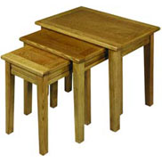 Nest of tables from the Hertford furniture range by Old Charm