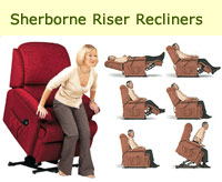 Sherborne Furniture, riser recliners