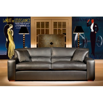Panther Leather - Grand Sofas, 2.5str Sofa, 2 str Sofa and Chair