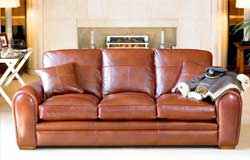 Spitfire Leather Setees & Sofas