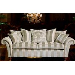 Duresta Watson Settee with Scatter Back on Turned Legs & Casters