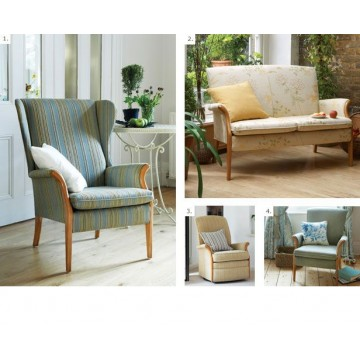 Froxfield Wing Chair and Froxfield Side Chairs